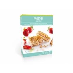 Lignavita Aardbei wafel (5x2 stuks)
