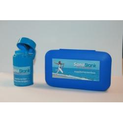 SanaSlank Supplementen box + vergruizer combinatie